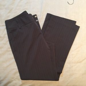 Pinstripe slacks by Daisy Fuentes